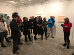 The launch of Rainsongs at the Eagle Gallery