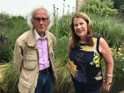 Interviewing Christo at the Serpentine