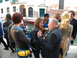 With Terry Smith Venice Biennale